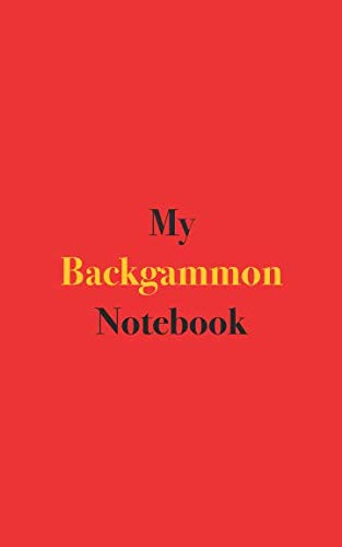 My Backgammon Notebook: Blank Lined Notebook for Backgammon Players