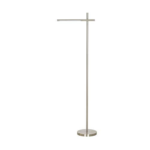 (Catalina Lighting 21859-000 Modern 4-Way Metal Floor Lamp with Touch Dimmer, LED Bulb Included, 59.5
