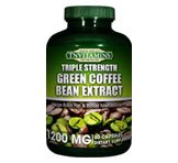 TNVitamins Green Coffee Bean Extract 1200 Mg (3x Strength) 60 Capsules