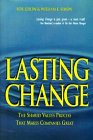 Lasting Change, Rob Lebow and William L. Simon, 0442025858
