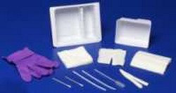 Standard Trach Care Tray - Case of 20 by Kendall