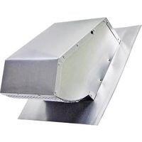 Lambro Industries Roofcap W/Damper Aluminum 7In 116