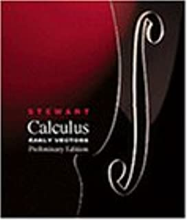 student solutions manual for stewart s calculus early vectors rh amazon com Calculus Problems Vector Calculus Marsden