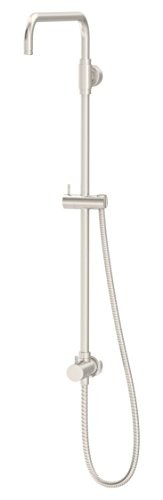 Symmons 35EX-STN Dia Shower Riser with Diverter in Satin Nickel