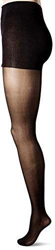 Just My Size Women's Plus Size Seasonless Tights 2-Pack, black, 3X/4X (Just My Size Pantyhose Sheer Toe)