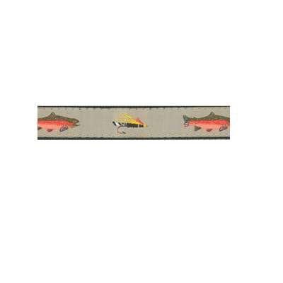 Up Country Fly Fishing Dog Collar Medium (12-18) Width 1 Inch Fishing Dog