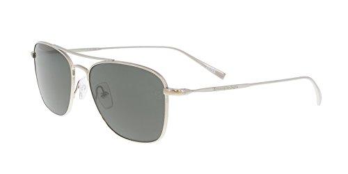 Ermenegildo Zegna EZ0032/S 14D Silver Aviator - Sunglasses Zegna