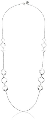 The SAK Cutout Station Silver Strand Necklace, 30