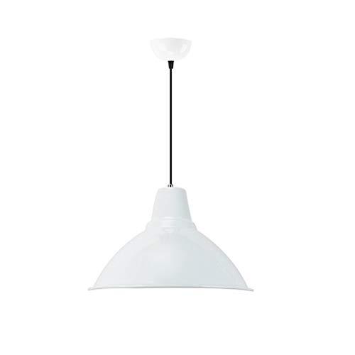● Couvercle de lampe Loft Chandelier Créativité Personnalité Restaurant Bar Simple Bureau Moderne Bureau éolien éclairage de salon (Couleur  Blanc) ●