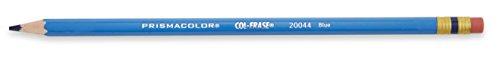 Prismacolor Col-Erase Erasable Colored Pencil, 12-Count, Blue (20044)