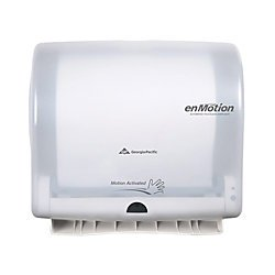 Georgia Pacific Enmotion 59447 Impulse 10 Automated Touchless Paper Towel Dispenser, Translucent White ()