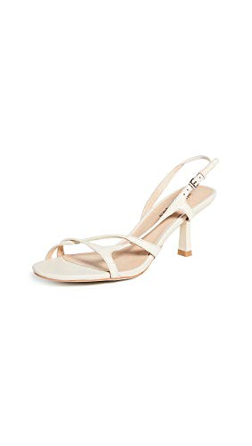 Jeffrey Campbell Women's Parasite Sandals, Nude, Off White, 10 M US