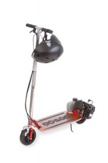 GO-PED LIGHTWEIGHT MOTORIZED SCOOTER RED
