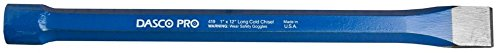 Dasco Pro 419-0 1-Inch x 12-Inch Cold Chisel by DASCO