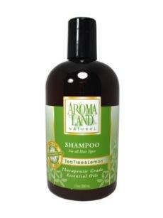 Aromaland Natural Shampoo (Aromaland Tea Tree and Lemon Shampoo 12 oz)
