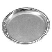 Stainless Steel Dinner Plate 1 pc Bazaar of India  sc 1 st  Amazon.com : steel dinner plates - pezcame.com
