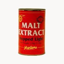 Muntons Malt Extract hopped light