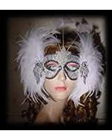 Ice Showgirl Mardi Gras Mask