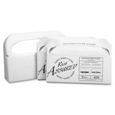 RCM25160800 - Toilet Seat Cover Set, Includes Dispenser by Rochester Midland
