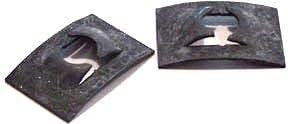 10-32 3,000 Pc C430-1032-4 Tinnerman Style Flat-Type Spring Nuts//Steel//Black Phos Carton