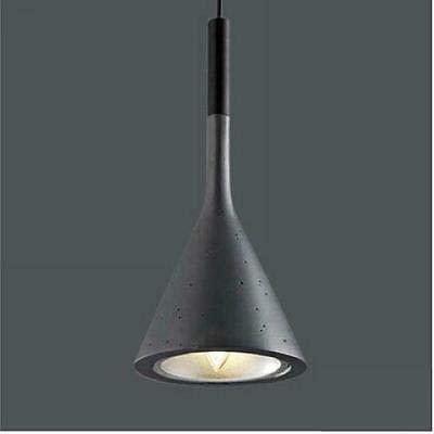 FidgetGear 1pc New Vintage Pendant Lamp Bar Ceiling Lighting Light Restaurant Chandeliers Gray