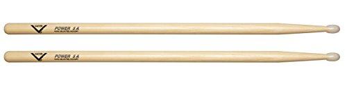 - Vater Power 5A Nylon Tip Hickory Drum Sticks, Pair