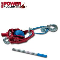 3 Ton Ratchet Puller With 35' Of 5/16' Amsteel Blue