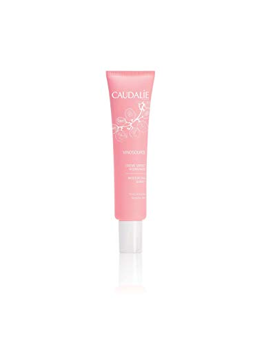 CaudalÍe VinoSource Moisturizing Sorbet. Luxurious Daily Face Moisturizer for Sensitive Skin with Grape Seed Extract for Hydration and Strength. Non-Comedogenic (1.3 fl oz / 40 mL)