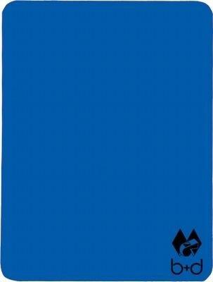 b+d Schiedsrichter-Disziplinarkarte, blau