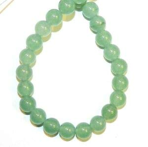 GR2258a Light Green Candy Malay Jade 6mm Round Quartz Gemstone Beads 15