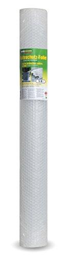 Windhager Kälteschutz Luftpolsterfolie, Transparent, 1 x 5 m, 60 µ