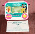 1990 Tiger Electronics, Inc. Walt Disney's Snow White And The Seven Dwarfs LCD Handheld Game