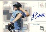 [AJ Burnett 1999 UD SP Signature AUTOGRAPH Card Pirates] (Pirate Cost)