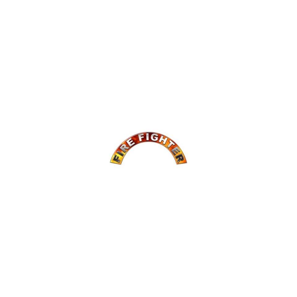 Real Fire Firefighter Fire Helmet Arcs / Rocker Decals