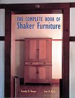 Complete Book of Shaker Furniture, Timothy D. Rieman and Jean M. Burks, 0810938413