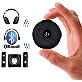 Baile Bluetooth 4.0 Wireless Audio Transmitter Multi-Point H-366T Support Two Bluetooth Headphones or Speaker Simultaneously for TV PC CD Player iPod MP3 MP4 (3.5mm Jack)