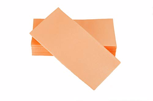 Simulinen Dinner Napkins - Disposable, Coral, Cloth-Like - Elegant & Heavy Duty, Soft & Absorbent, Like Paper but Better! 16