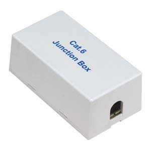 InstallerParts Cat 6 Junction Box, Punch Down Type – UL Listed –