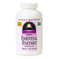 Source Naturals quotidiennes enzymes essentielles, 500mg, 240 capsules