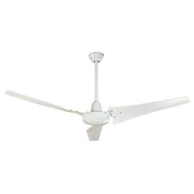 Hampton Bay Industrial 60 in. White Energy Star Ceiling Fan