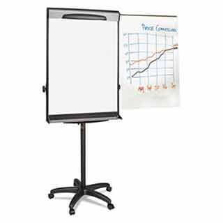 BVCEA48062119 UNITED STATIONERS (OP) DRY EASEL 69IN-78IN HIGH MAG EXT BAR BLA/SLVR 1/ by BVCEA48062119