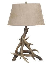Crestview Collection Antler Table Lamp