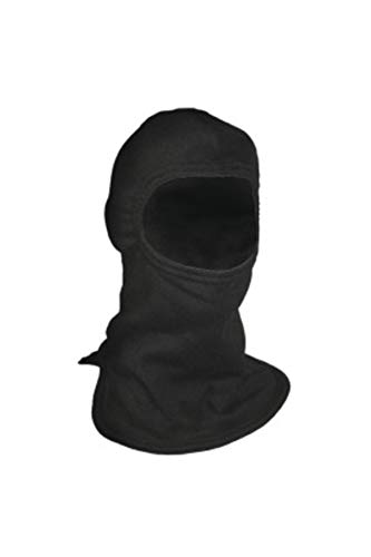 National Safety Apparel H25CX FR Double Layer Carbon Hood (Wider Cut), 23 Calorie, One Size, Black