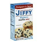 Jiffy, Blueberry Muffin Mix, 7oz Box (Pack of 6) ()