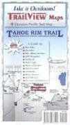 Tahoe Rim Trail Trail View Map