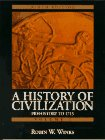 img - for History of Civilization, A: Prehistory to 1715 (Vol. I) book / textbook / text book