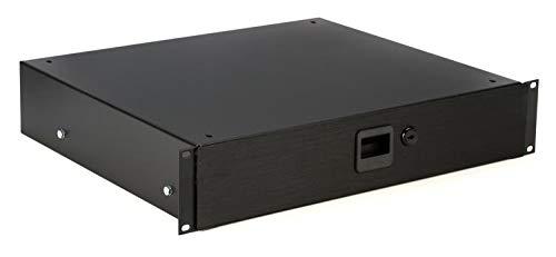 Audio Rack Doors Enclosed - Middle Atlantic Products D2-LK - 2 Rack Spaces