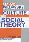 Culture and Social Theory, Aaron Wildavsky, 1560002751