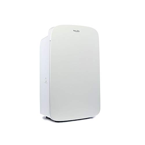 Pure & Dry HEPA50 (50 Pint) Dehumidifier & Air Purifier - 2-in-1 Combo - Sealed Hepa Filter - Up To 1000 Sq Ft Coverage