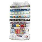 INCREDIBLE HOLIDAY ORGANIZER: Suzie Homemaker Over The Door Portable Gift Wrap  Station By